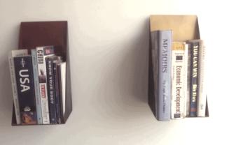 Oblique shelves from designmint.net