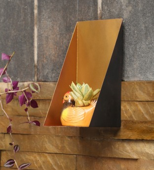 Black and Gold Oblique Shelf1