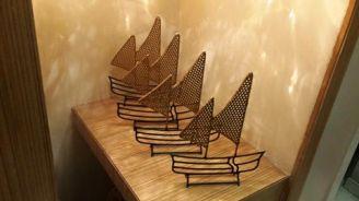metal boats